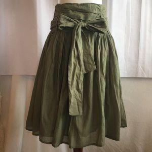 Sweet Sinammon Green Skirt